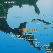 central-belize-map