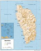 Dominica Map