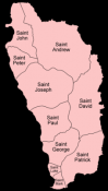 Dominica parishes