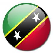 Saint Kitts and Nevis 3dflag
